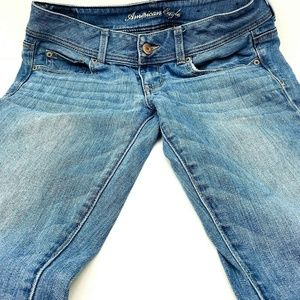 American Eagle Jeans Size 6 Stretch Slim Bootcut